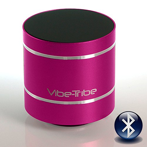 Vibe Tribe Troll 2.0 - Altavoz vibración Bluetooth, 10W, magenta