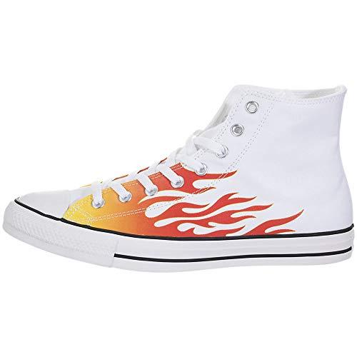 Converse Chuck Taylor All Star High (Flames) Size: 10.5 Women/8.5 Men