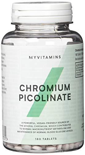 Myprotein Chromium Picolinate Trace Mineral  180 Tabletten, 1er Pack (1 x 60 g)