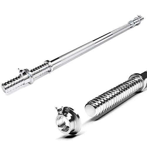 KDLK Barbell Antideslizante de 25 mm, 120 cm / 150 cm, Adecuado para el Levantamiento de Pesas, bíceps y tríceps Profesional de Principiantes. (Size : 1.2m)