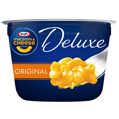 Kraft Deluxe Easy Mac Original Flavor Macaroni and Cheese 10 Microwaveable Cups