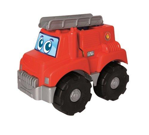 Jouets Ecoiffier -7818 - Camion de pompier garni de briques Abrick Maxi – Jeu de construction pour enfants – 16 pièces – Dès 12 mois – Fabriqué en France