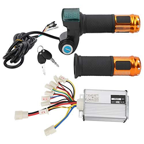 Controlador de Cepillo de Bicicleta eléctrica Juego de Controlador de Cepillo Aleación de Aluminio 1000W48V Control de Interruptor Bicicletas eléctricas Resistentes a la Lluvia para Scooter