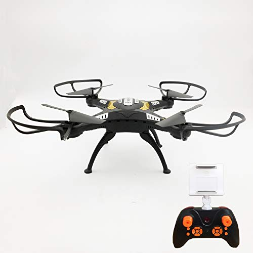 DRONE QUADRICOTTERO RADICOMANDATO HEADLESS WIFI FPV CAMERA HD VIDEO FOTO