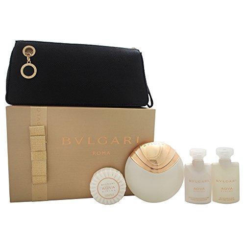 Bvlgari Aqva Divina Coffret: Eau De Toilette Spray 65ml + Body Lotion 40ml + Shower Gel 40ml + Soap 50g/1.76oz + Pouch 4pcs+1pouch