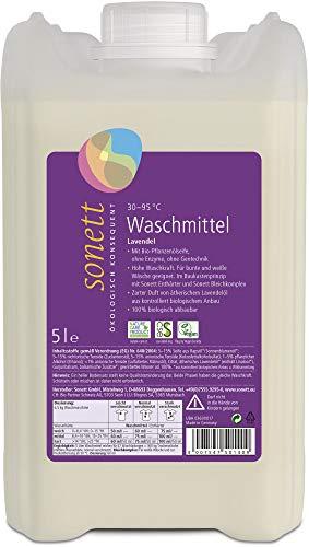 Sonett Bio Waschmittel Lavendel 30 95 C (2 x 5 l)