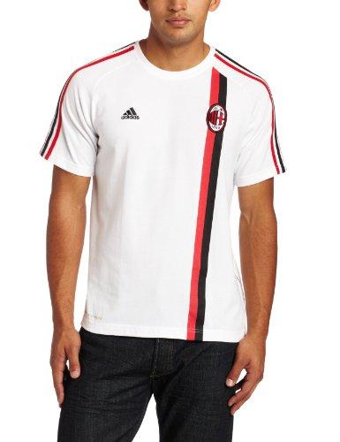 AC Milan Core T-Shirt (White, Medium)