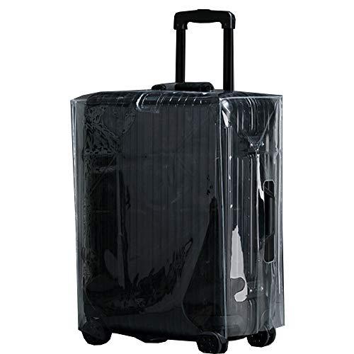 /A Gepäckwagen Schutzhülse Transparente Staubabdeckung Dickeres Verschleißwasserdichten Koffer (2 Stück),20 inches