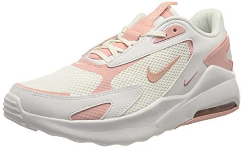 Nike Wmns Air MAX Bolt, Zapatillas Mujer, Blanco, Rosa, Blanco Brillante, 35.5 EU