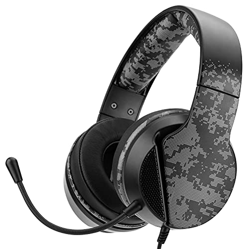 Nitho JANUS STEREO GAMING HEADSET CAMO, Compatible with PS4/PS5/Xbox One/XBOX series X/Switch/Phones