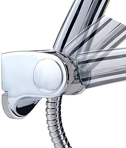 Acefy Supporto doccia regolabile in ABS per soffione doccia/Manopola Doccia Diametro 24/25 mm