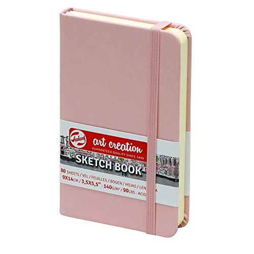Sketchbook Royal Talens Art Creation Hardcover Skizzenbuch 80 Blatt 140gsm 9x14cm - Einband Pastellrosa