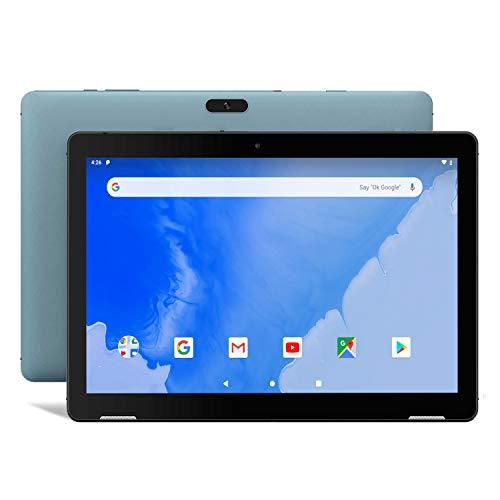 Tablet 10 Inch Android 9.0 - Winnovo T10 WiFi PC Tablets 32GB Storage 3GB RAM HD IPS 1280x800 Touchscreen Dual Camera 5G WiFi GPS Bluetooth HDMI FM(Blue)