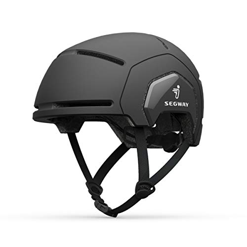 Segway-Ninebot Helmet S/M ヘルメット ブラック 頭囲55-58cm スピンダイヤル調節 高通気性 キックスクーター 自転車 スポーツ セグウェイ ナインボット 53450