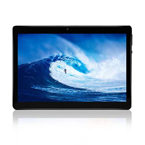 KXD Tablet Android 8.0 da 10 pollici con WIFI, navigazione Bluetooth 2 GB di RAM 32 GB di memoria Dual SIM 3Gè anche un cellulare (Nero)