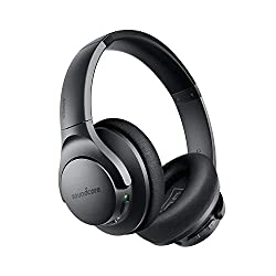 top rated Anker Soundcore Life Q20 hybrid headphones with active noise canceling and wireless on-ear Bluetooth … 2021