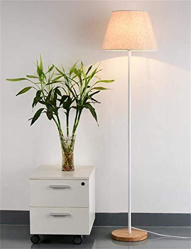 CLJ-LJ Bodenleuchten Continental Eisen Tuch Vertikal Einfache Schlafzimmer Arbeitszimmer Bodenleuchten für Wohnzimmer Leuchtmittel enthalten, A-2 (Farbe: A2)