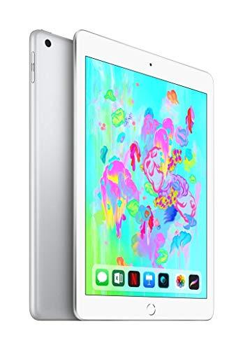 Apple iPad 9,7 (2018) 32GB 4G - Argento - Sbloccato (Ricondizionato)