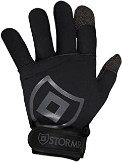 Stormr Strykr Kevlar 2mm Neoprene Women and Men's Glove - Fully Lined Micro-Fleece Gloves with Adjustable Wrist Closures - Ideal for Ice Fishing, Winter Conditions, and Foul Weather, XS