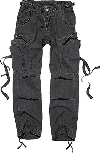 Brandit M65 Ladies Trousers Frauen Cargohose schwarz W29L32 100% Baumwolle Casual Wear, Festival