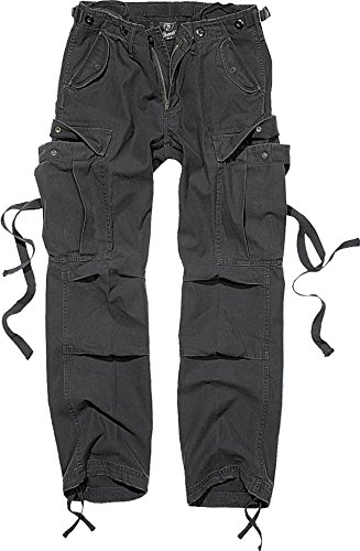 Brandit M65 Ladies Trouser Schwarz W28