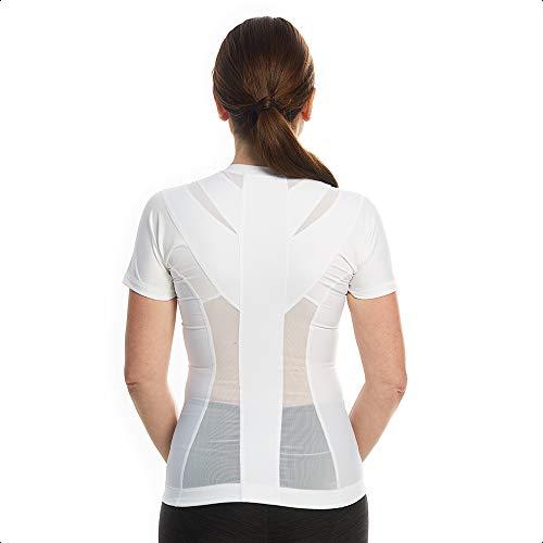 Camisa de postura para mujer con cremallera 2.0 | Soporte de postura, activación muscular, tensión de espalda y alivio del dolor |