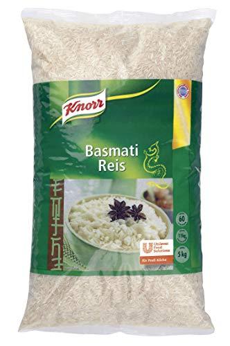 Knorr Basmati Reis passend zu Currys, Paella, Fisch oder als Beilagenreis, 1er Pack (1 x 5000 g)