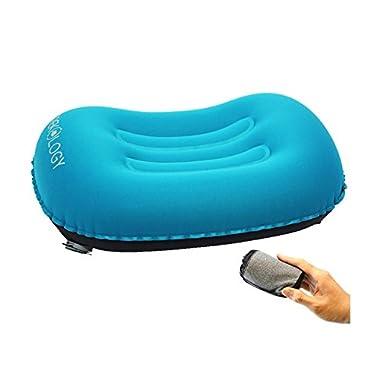 Trekology ALUFT COMFORT Ultralight Inflating Travel/Camping Air Pillows (blue)
