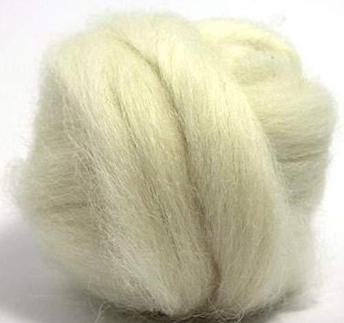 Paradise Fibers isländische Wolldecke, 113 g, Weiß