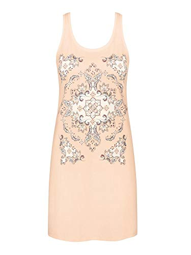 Triumph Nightdresses NDK 03 Camicia da Notte, Beige (Orange Highlight), 42 Donna