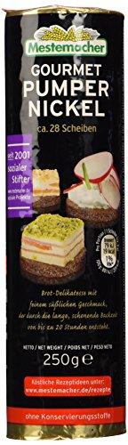 Mestemacher Gourmet Pumpernickel Rolle, 12er Pack (12 x 250 g)