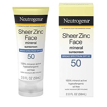 zinc sunscreen
