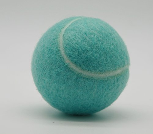 Price's Pastel Colour Type 2 Tennis Balls Made in the UK (1 x Bahama Blue)