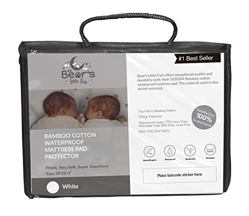 Bear's Little Fish Mattress Protector (Cot Bed/Crib)