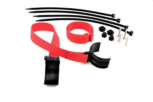 Cinturón de seguridad Universal/cinturón de rescate para TODOS Enduros Rojo