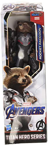 Avengers- Titan Hero Movie Rocket, Multicolor (Hasbro E3917ES0)