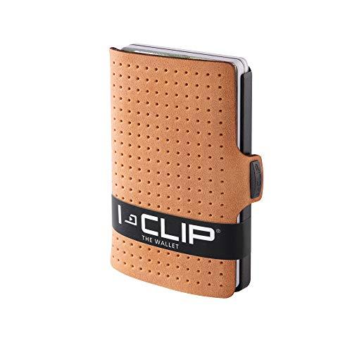 I-CLIP ® Geldbörse AdvantageR Caramel, Gunmetal-Black (In 6 Varianten Erhältlich)