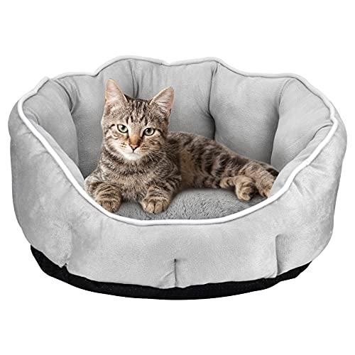 Queta Cuccia per cani e gatti, cuscino morbido per cani, per gatti e cani, 46 x 46 x 23 cm