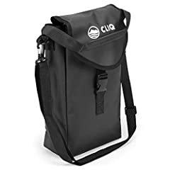 This waterproof bag holds up to Cliq 2 camping chairs. Great for compactly carrying 1-2 Cliq outdoor chairs to and from your favorite destination. Features a carry handle, adjustable shoulder strap and mesh side stash pocket. Tired of lugging all you...