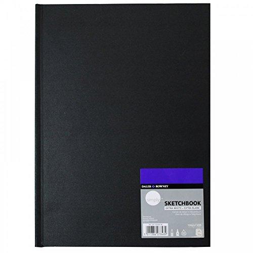 Simply 110SH Skizzenbuch, A4, extra weiß, 100 g