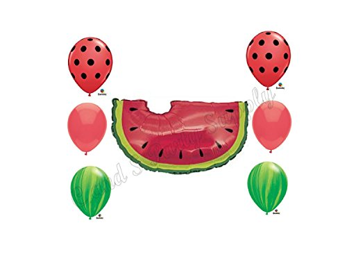 WATERMELON PICNIC Birthday Balloons Decoration Supplies Party Cookout by Anagramの詳細を見る