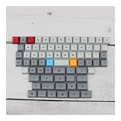 Keycaps 40 Dye Subbed Dsa Copritasti for Mx meccanica di gioco Tablet tastiera PBT keycap Teclado Clavier giocatore Rii mini I25 (Color : DSA 40 keycap A)
