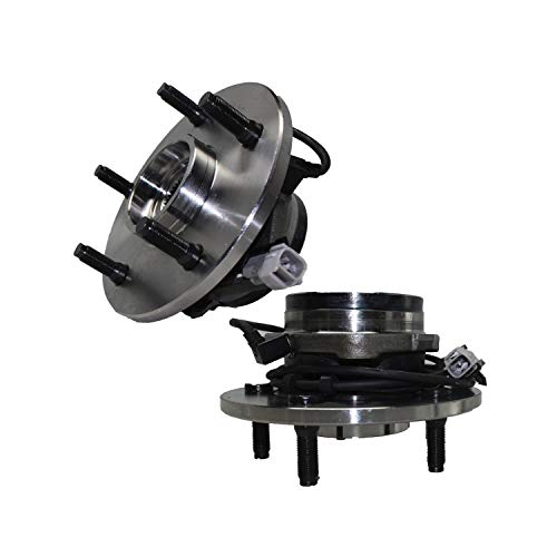 Detroit Axle Replacement for 2000-2001 Dodge Ram 1500 Front Wheel Bearing & Hub Assembly 4x4 ABS - 2pc Set