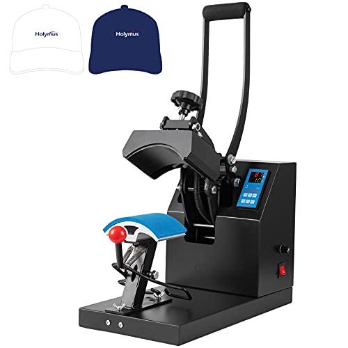 Hat Press Heat Machine for Caps 6 Inch - Hat Press Clamshell Design for Baseball Hat Printer