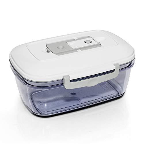 ROMMELSBACHER VCC 150 Vakuumierbehälter Kolibri (1,5 Liter, spülmaschinengeeignet, Lagerung im Tiefkühler bis -18°C, geeignet für Backofen und Mikrowelle)