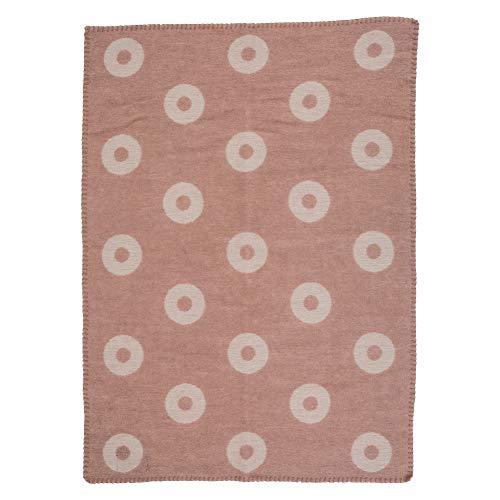 [クリッパン] Klippan ミニブランケット ウール 65×90cm リングス/ピンク Rings Baby Pink 2454.04 ひざ掛け Wool Blankets ベビー 毛布 ふわふわ あったかグッズ プレゼント [並行輸入品]
