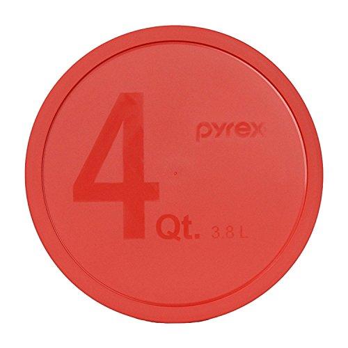 Pyrex - Red 4 Quart Storage Mixing Bowl Lid 326-PC by Pyrex