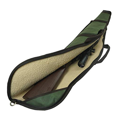 Tas Trost 52inch Canvas & Leather End Scoped Rifle Carry...