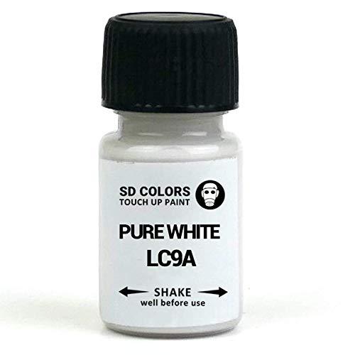 SD Colors LC9A - Vernice per ritocchi da 8 ml, colore bianco puro