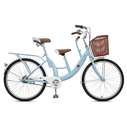 MLSH Bicicletta all'aperto, può trasportare Bici da Strada per Bambini 24 '', Portare Bambini/Neonati per Giocare a Biciclette da Turismo - Blu